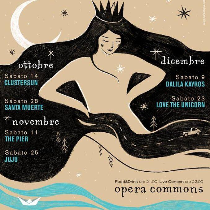 Opera Commons: primo appuntamento nel segno dei Clustersun