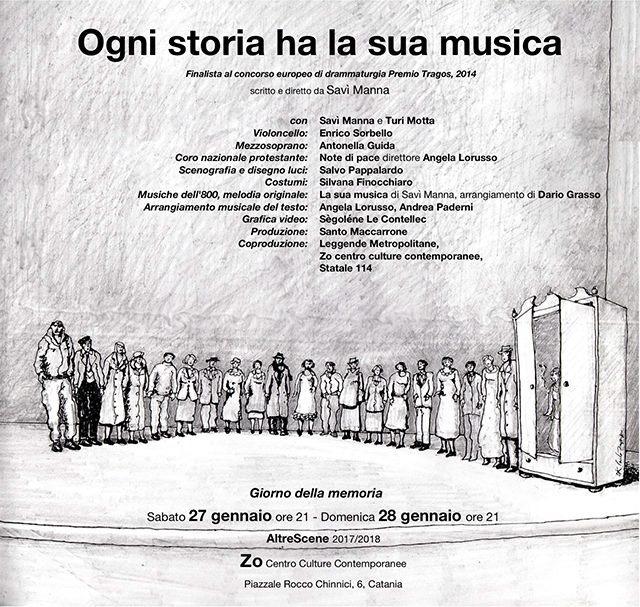 Ogni storia ha la sua musica di Savì Manna: in scena da Zō