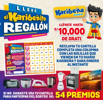Banner Karibeñito Regalon 4ta cartilla