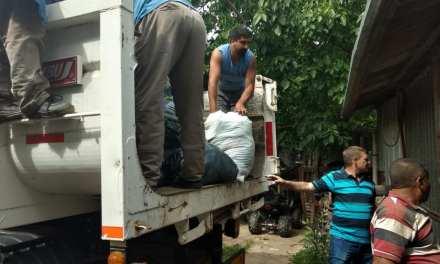 Enviaron ayuda a los damnificados por las inundaciones en Villa Minetti