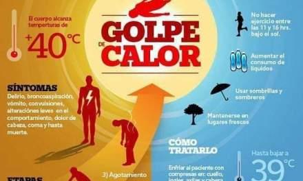 Recomendaciones por los golpes de calor
