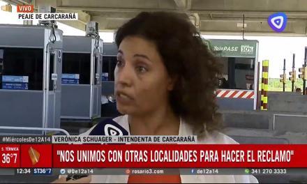 Clausuraron el peaje de la autopista Rosario – Córdoba
