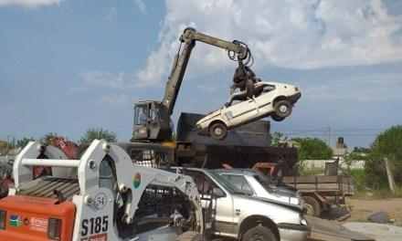 El Municipio compactó 120 motos y 23 autos
