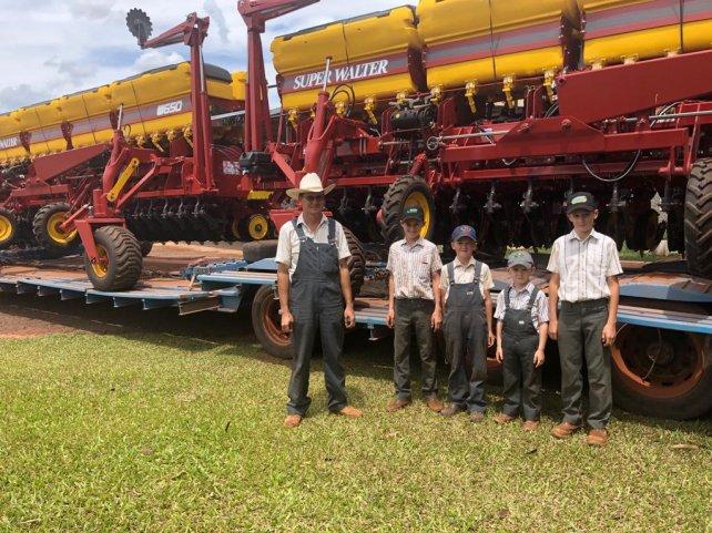 Una vez más Súper Walter lidera el mercado de exportación de sembradoras