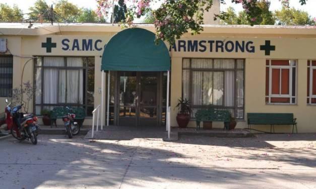 3 sospechosos de Covid y 26 aislados en Armstrong