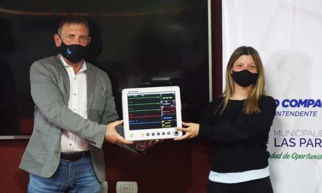 El Municipio local Donó un Monitor Multiparamétrico al SAMCo