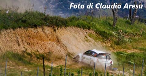 Incidente durante lo scorso Rally del Vermentino - Foto di Claudio Aresu