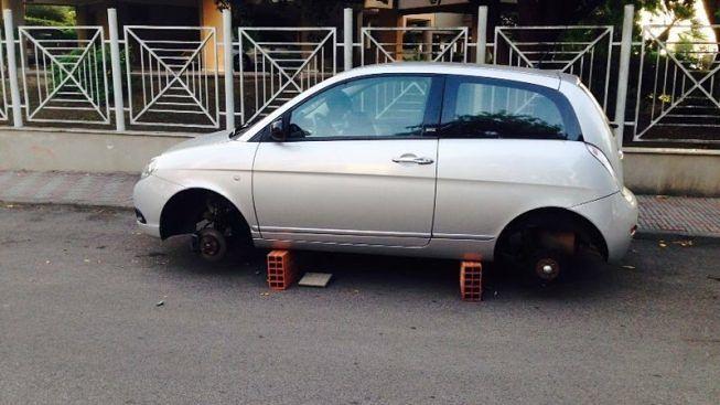 auto su blocchetti