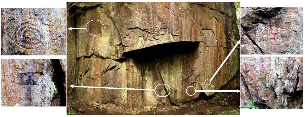 Algas, hematita y carbón para dibujar la vida de los ancestros de Machu Picchu - Algas-hematita-y-carbon-para-dibujar-la-vida-de-los-ancestros-de-Machu-Picchu_image_380