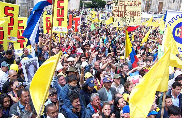 La Central Unitaria de Trabajadores denuncia el atentado a Luis Alberto Galvis, Dirigente de la USO - cut
