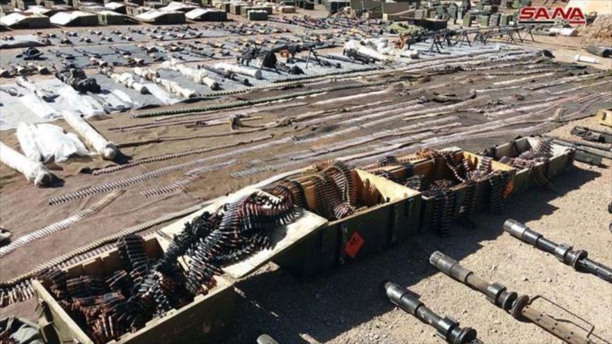 Siria incauta armas de EEUU dejadas por terroristas en Al-Quneitra - 08523134_xl
