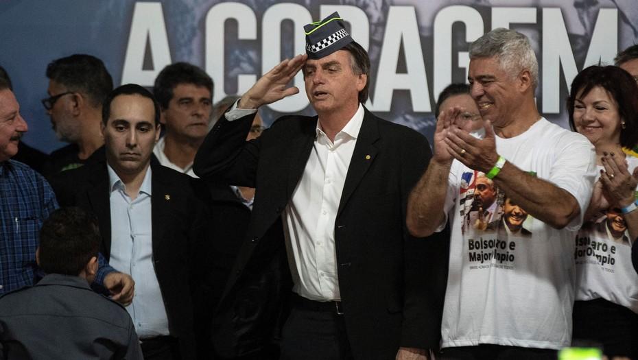 ¿Por qué Jair Bolsonaro ganará la primera vuelta en Brasil - Jair-Bolsonaro