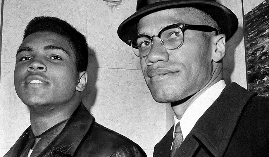 La derrota del Black Power 1968-2018 - Mohamed-Ali-y-Malcom-X