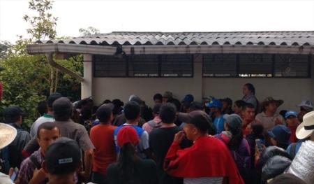 """Comunidades en paro señalan """"Hay Policías infiltrados en las protestas campesinas en el Cauca"""" - 3873355_n_vir3_1_"""