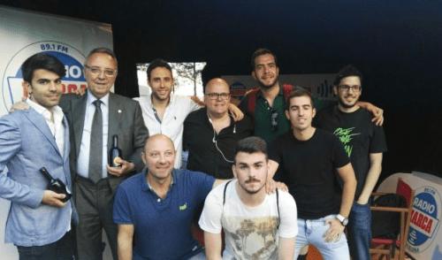 Joan Gaspart visita el Tribuna Marca al Wold Padel Tour radiomarcabcn