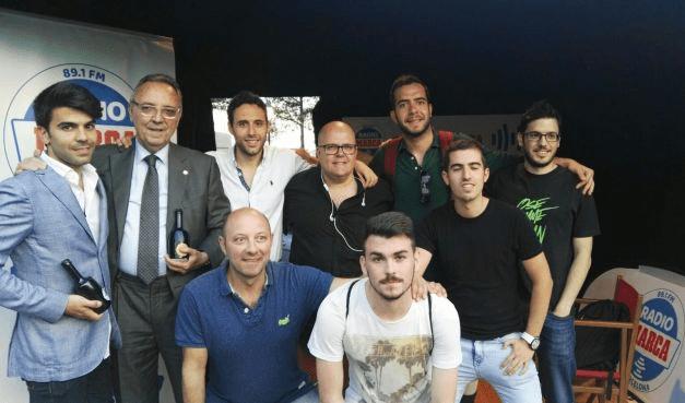 Joan Gaspart visita el Tribuna Marca al Wold Padel Tour