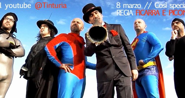 Tinturia, on line video inedito Così speciale