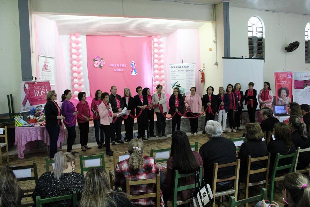 Alegria e emoção marcaram abertura do Outubro Rosa em São Luiz Gonzaga