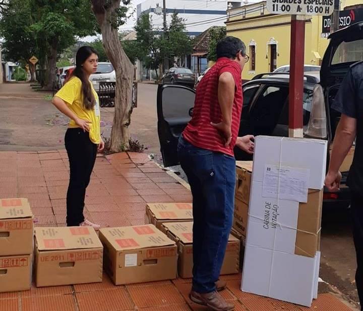 Urnas para votação em São Luiz Gonzaga e região já foram distribuídas