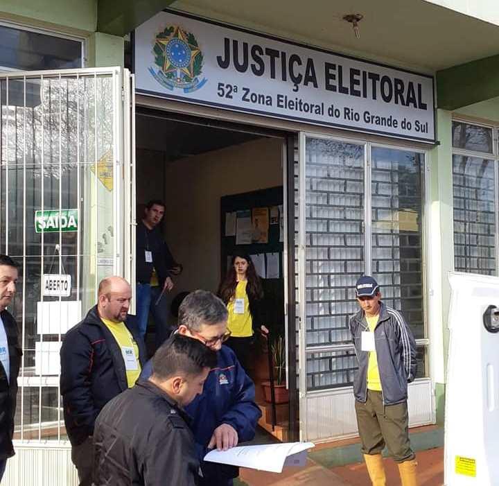 Cartório Eleitoral de São Luiz Gonzaga já distribuiu urnas para a votação