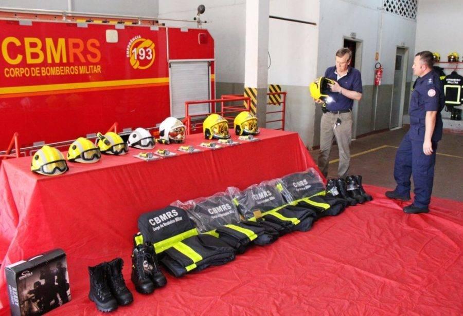 Novos equipamentos são adquiridos para o Corpo de Bombeiros de São Luiz Gonzaga
