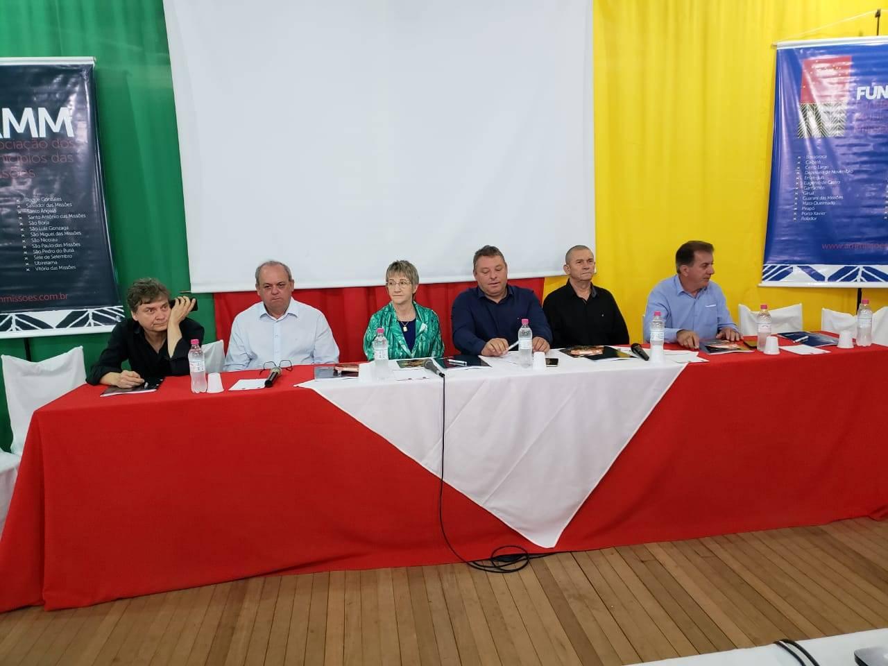 São Miguel das Missões sediou reunião da Associação dos Municípios das Missões