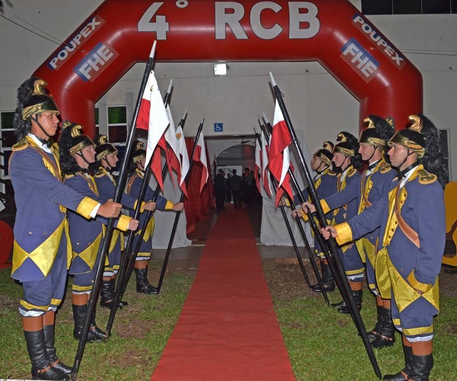 4° RCB comemorou aniversário de 281 anos com diversas atividades