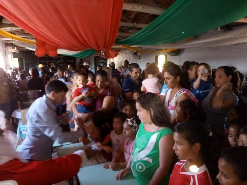 Bossoroca: festa de Natal alegrou moradores do bairro Gaúcha