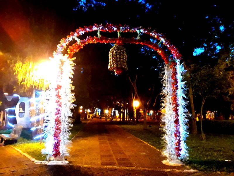 Presidiárias, voluntariado e dedicação: como foi feita a decoração do Natal Luz em São Luiz Gonzaga