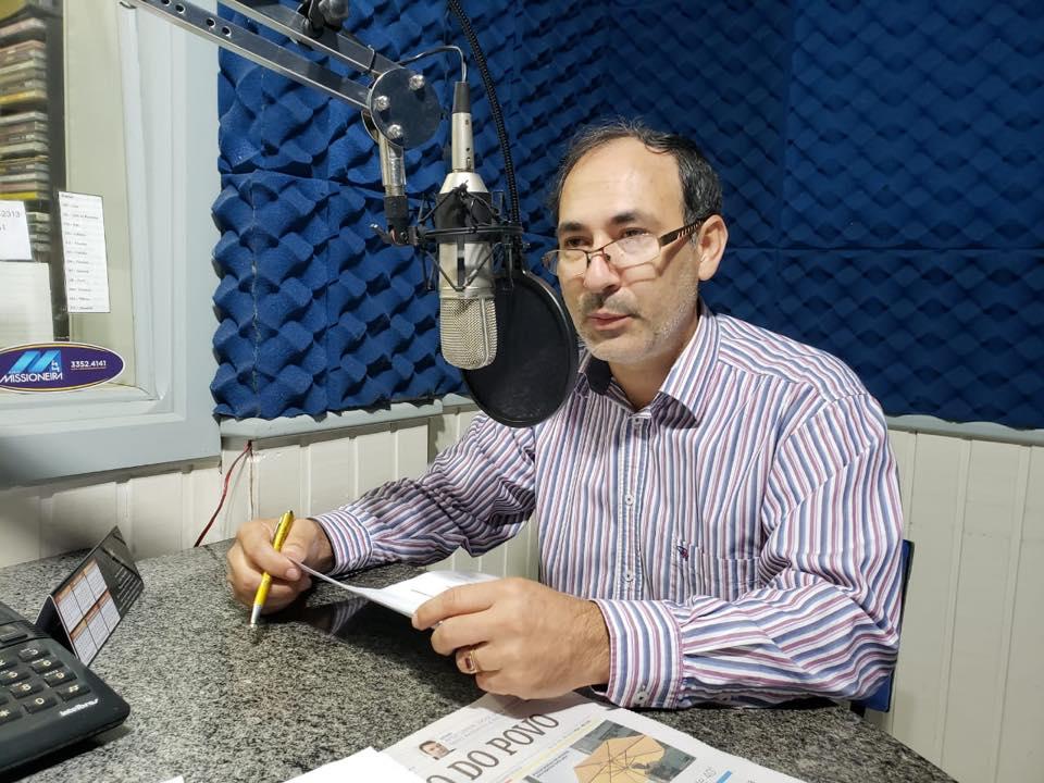 Presidente da Câmara de Vereadores de São Luiz Gonzaga confirma disputa de chapas para a mesa diretora