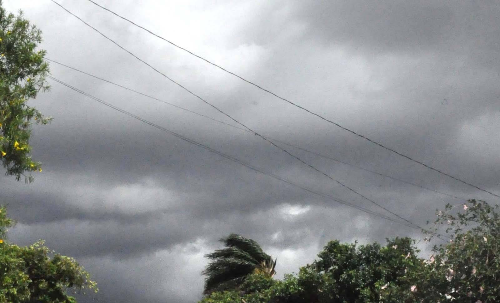 Tempo muda nesta quinta-feira e a instabilidade chega a nossa região