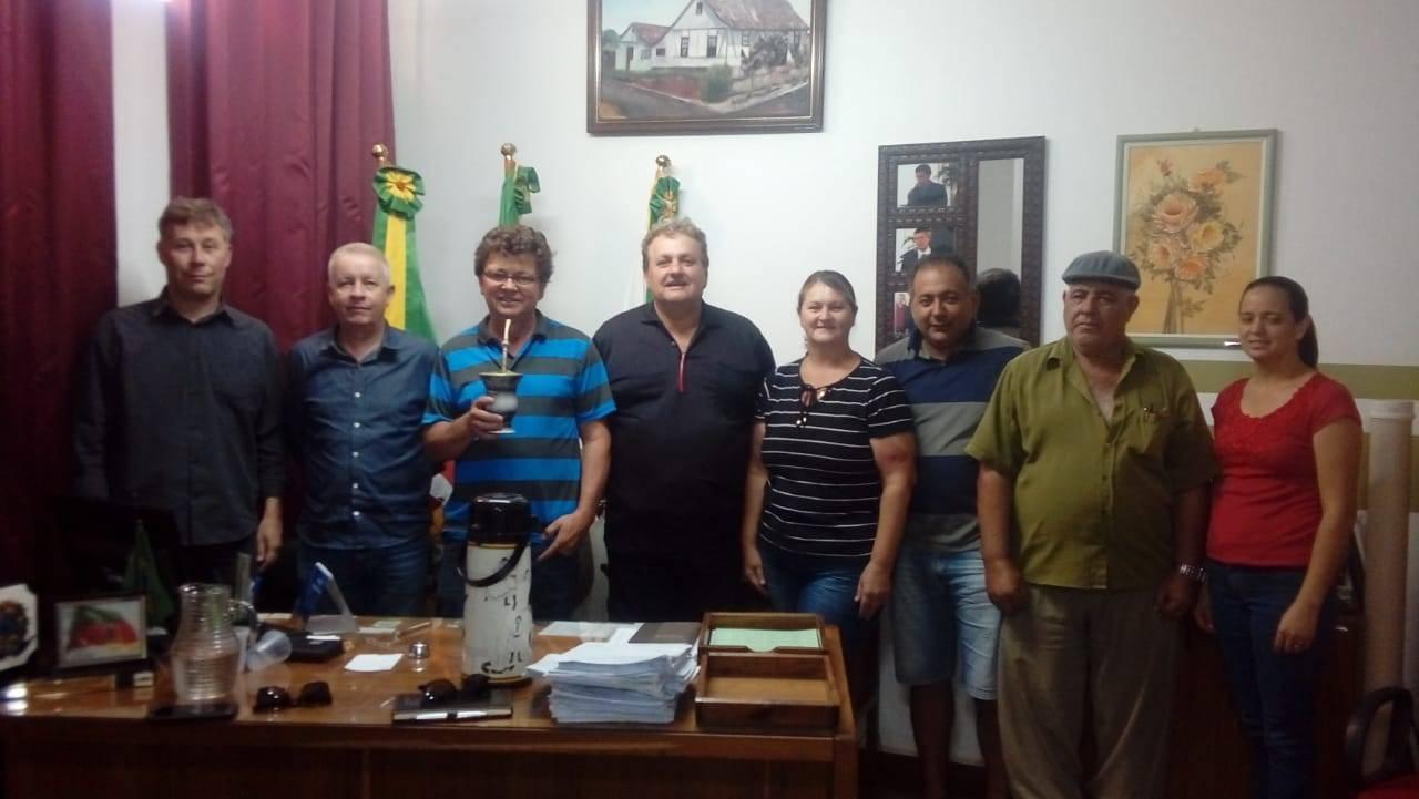 Engenheiros do Daer visitaram estrada entre Pirapó e Dezesseis de Novembro