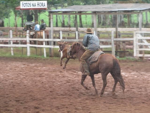 Rodeio de Bossoroca reuniu mais de 140 trios