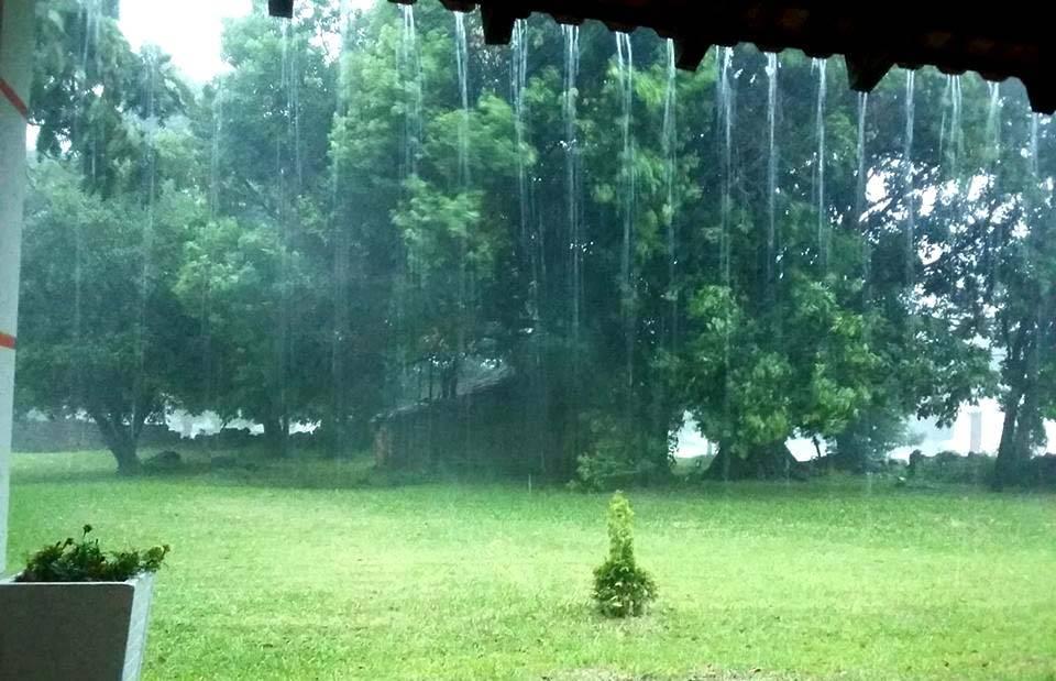 Temperatura fica amena após a chuva e máxima não passa dos 24°