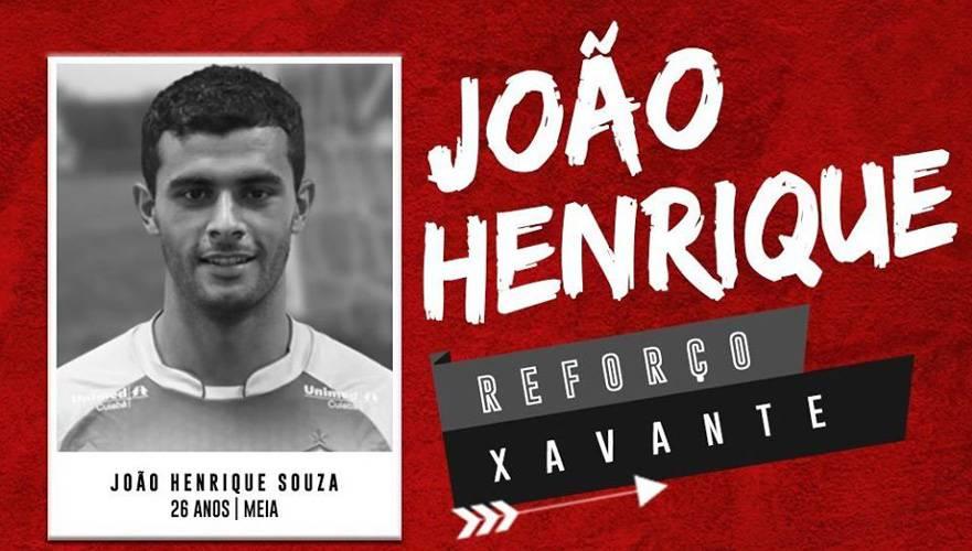 Meia João Henrique é anunciado pelo Brasil de Pelotas
