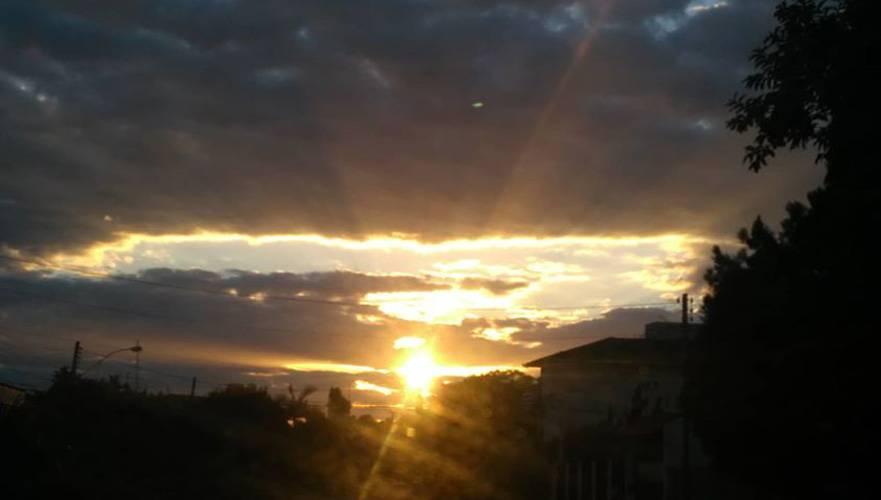 Sol aparece mais e calor aumenta no decorrer da semana