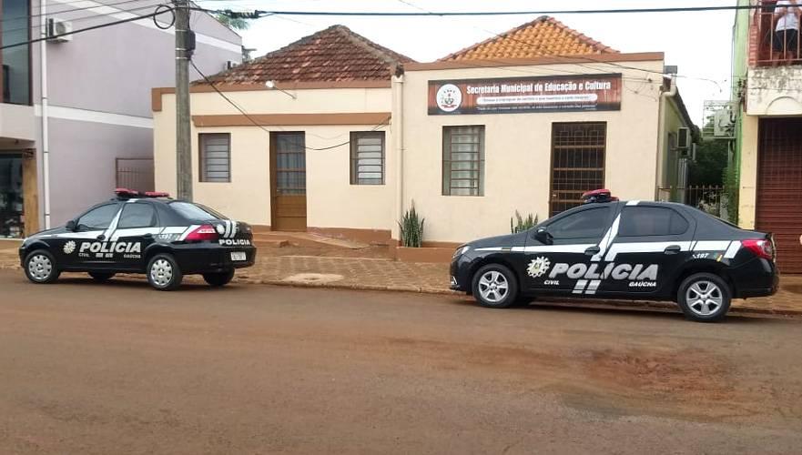 Polícia Civil cumpre mandados de busca e apreensão em São Nicolau