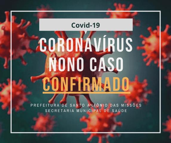 Santo Antonio das Missões possui nove casos de Covid-19