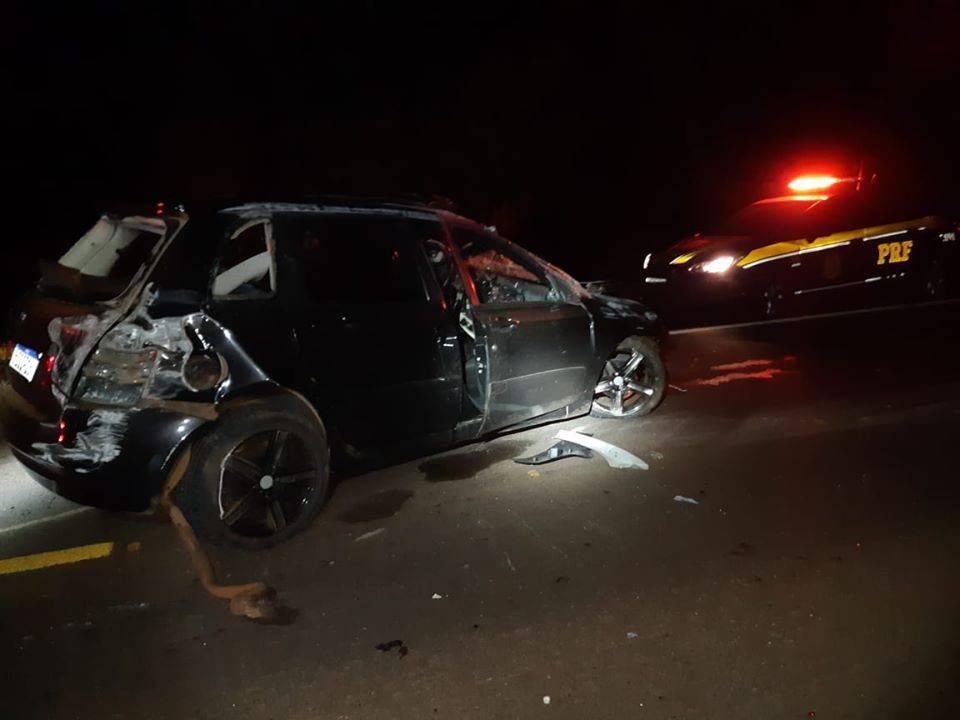 Acidente com vítima fatal na BR 392 em Salvador das Missões