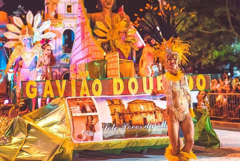 Carnaval: escola de samba Gavião Dourado já tem planos e novidades para 2022