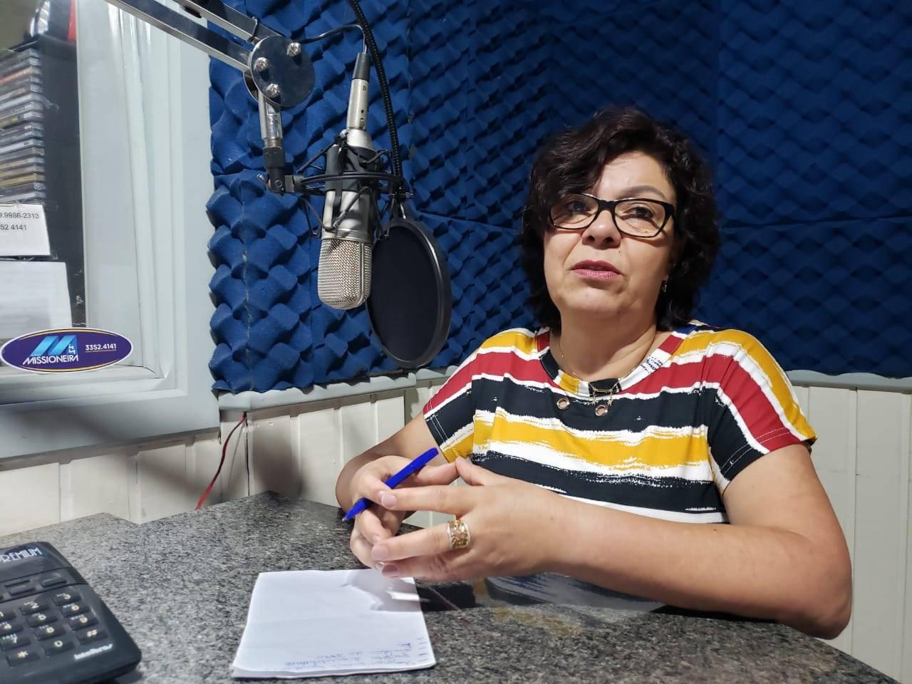 Ana Barros fala da importância da destinação de cestas básicas para famílias de baixa renda