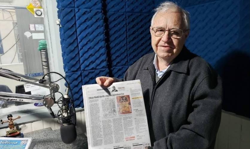 Rádio Missioneira – 40 anos: com José Grisolia Filho, nascia o jornalismo da emissora