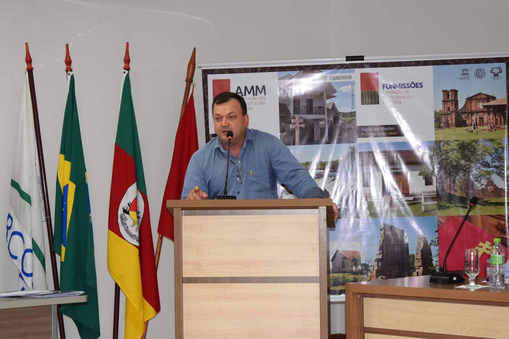 Asfaltos a Pirapó e Garruchos estão entre as prioridades da nova gestão da AMM