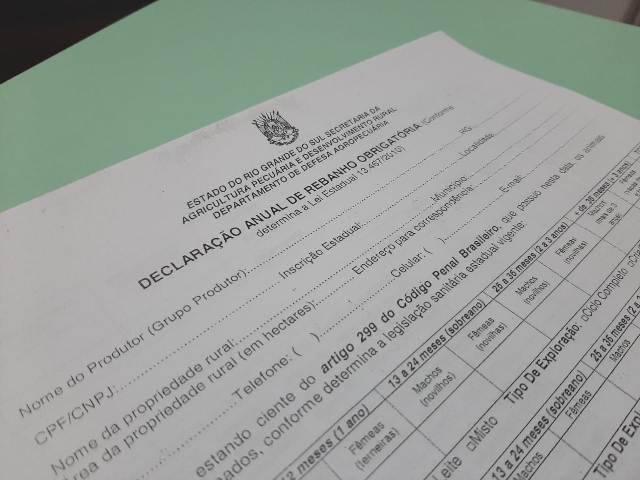 Bossoroca: Aberto prazo para declaração anual de rebanho e vacinação contra brucelose