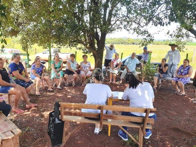 Equipe do CRAS Volante segue com as reuniões de planejamento no interior de Santo Antônio das Missões