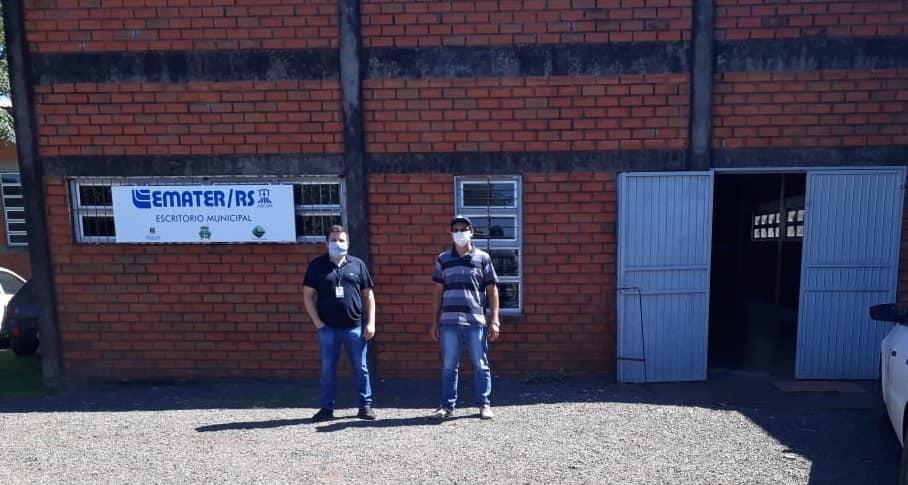 Escritório Municipal da Emater/RS-Ascar de Rolador está em novo endereço
