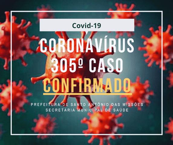 Santo Antônio das Missões registra mais uma morte e dez novos casos de coronavírus