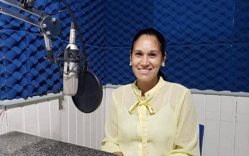 Vereadora Rose Grings recebe convite especial do repórter Giovani Grizotti