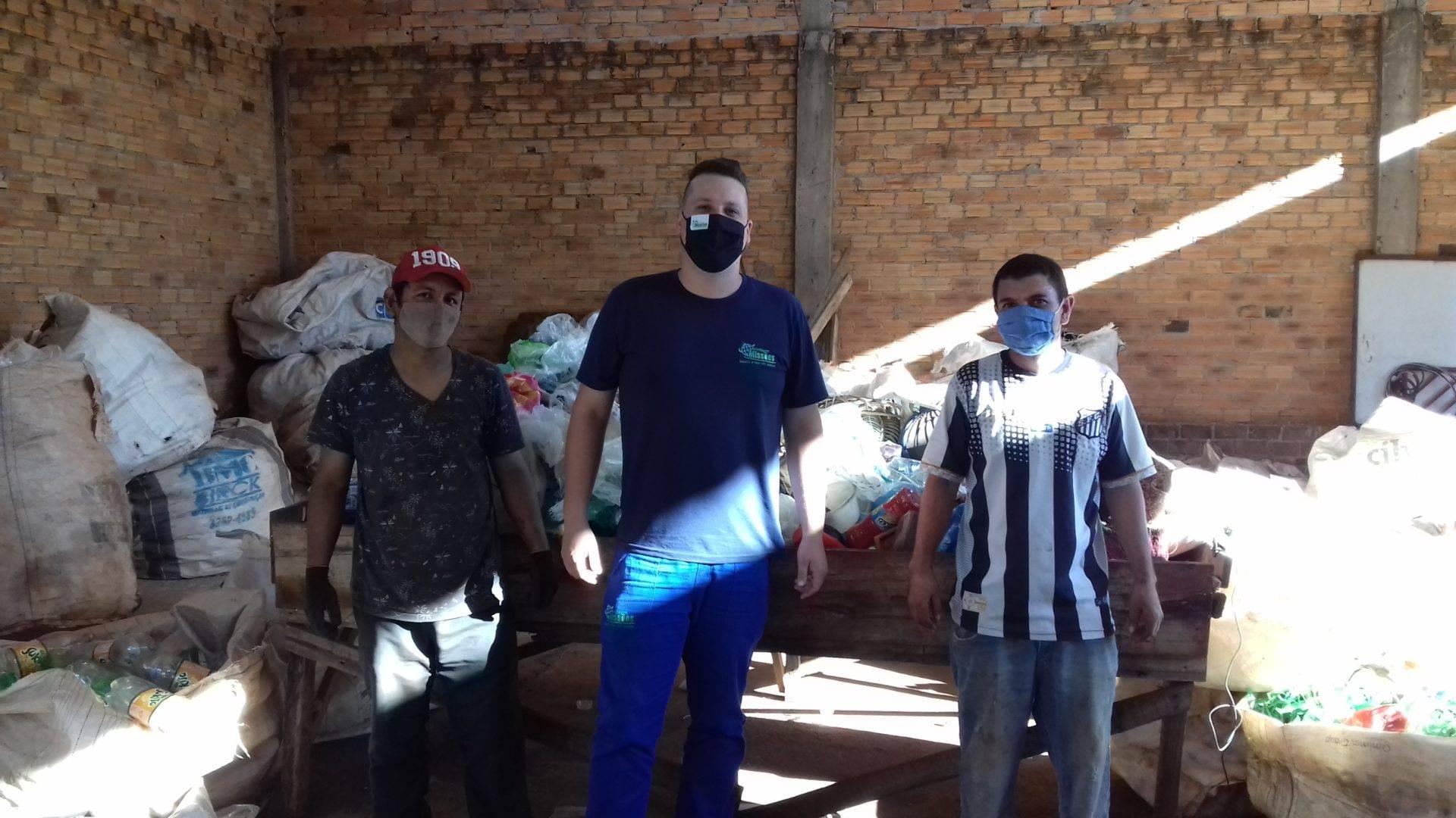 Empresa de reciclagem oportuniza trabalho e fonte de renda em São Luiz Gonzaga