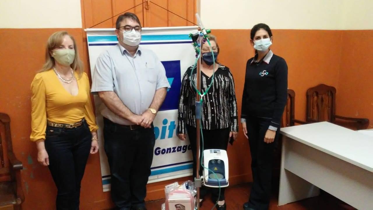 Amigas do Bem realiza a doação de equipamento ao Hospital São Luiz Gonzaga
